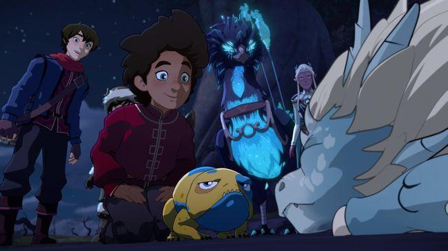 Принц-дракон 3 сезон — дата выхода мультипликационного сериала