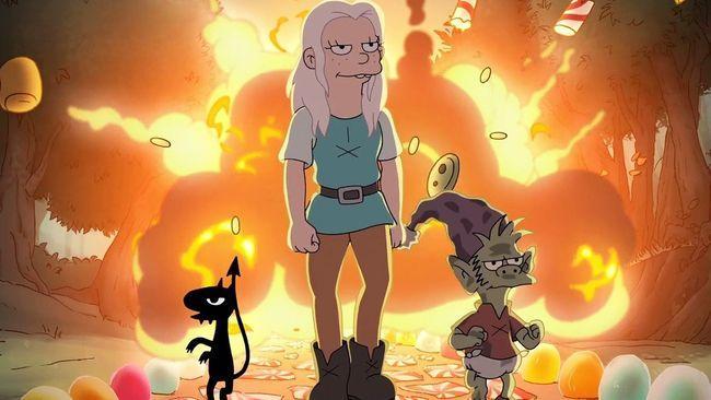 Разочарование 2 сезон — дата выхода продолжения мультсериала
