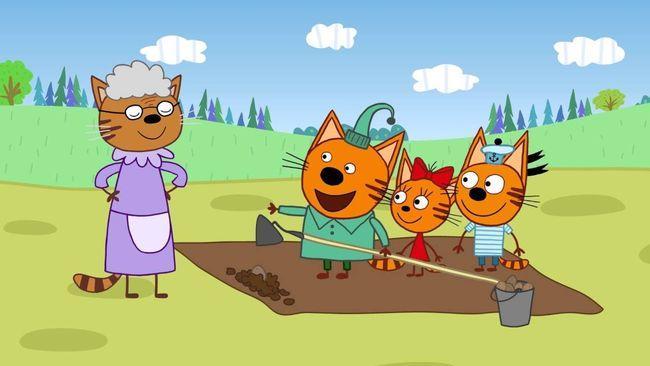 Три кота 4 сезон — дата выхода российского мультсериала