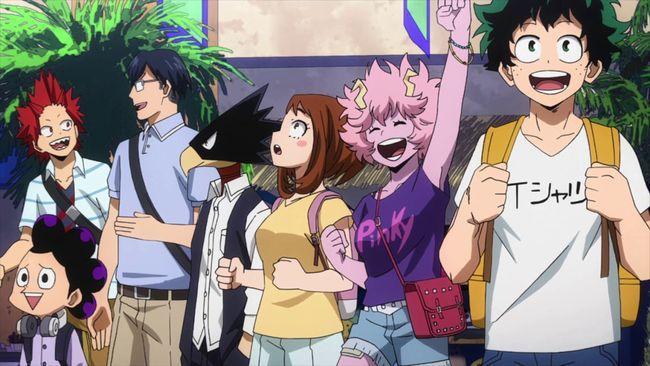 Моя геройская академия 4 сезон — дата выхода аниме-сериала