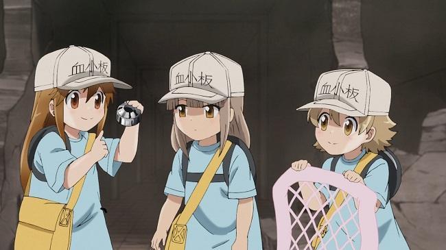 Клетки за работой 2 сезон — дата выхода аниме-сериала