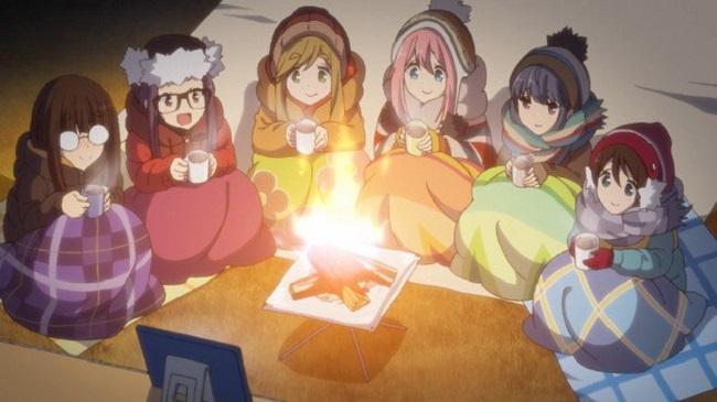 Лагерь на свежем воздухе 2 сезон — дата выхода аниме-сериала